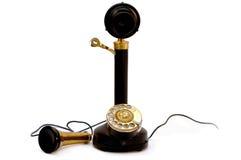 античный телефон Стоковая Фотография
