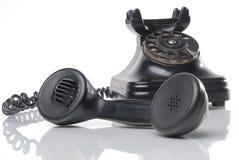 античный телефон Стоковые Фото