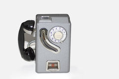 античный телефон Стоковое Изображение RF