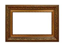 античный тип рамок Картинная рамка сбора винограда золота Стоковое фото RF