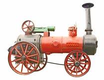 античный трактор пара Стоковая Фотография