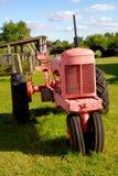 Античный трактор стоковые фотографии rf