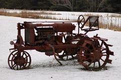 Античный трактор Стоковые Изображения RF