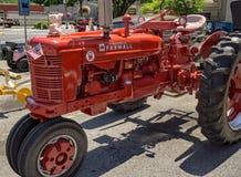 Античный трактор Стоковые Фото