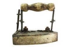 античный утюг Стоковое Изображение