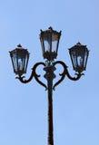 Античный фонарик фонарного столба Стоковое Изображение RF