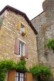 Античный французский средневековый дом Стоковое Изображение RF