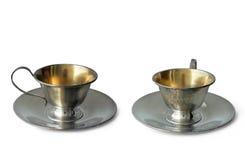античный чай чашки Стоковые Фото
