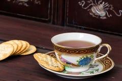 античный чай чашки Стоковые Изображения RF