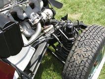 античный частично восстановленный автомобиль 2 Стоковые Фото