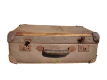 античный чемодан Стоковые Фото