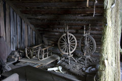 Античный чердак Стоковые Изображения