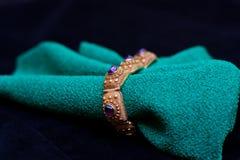 Античный amethyst браслет Стоковые Фото