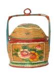 античный bamboo киец корзины Стоковое фото RF