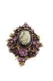 античный brooch Стоковое Изображение