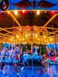 античный carousel Стоковые Фото