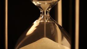 античный hourglass видеоматериал