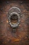 античный knocker двери Стоковые Изображения RF