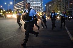 Анти- протест суда верхней части ` s Румынии, Бухарест, Румыния - 30-ое мая 20 стоковое изображение rf