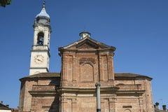 ` Антонио Sant притухает церковь на Bereguardo Павии, Италии стоковые фото