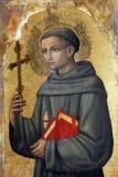 Антонио Vivarini: Св. Франциск Св. Франциск Assisi стоковое фото