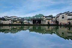Аньхой Yixian Hongcun на болоте Стоковые Изображения RF