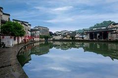 Аньхой Yixian Hongcun на болоте Стоковые Изображения