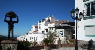 Андалузская деревня стоковые изображения