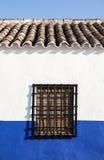 Андалузские белые деревни в Испании Стоковое фото RF