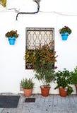 Андалузские белые деревни в Испании Стоковое Изображение