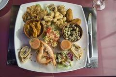 Андалусия, блюдо, тапы Стоковое Изображение RF
