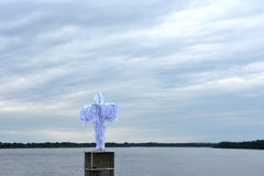 Анджел над рекой стоковое фото rf