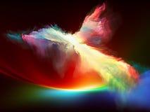Анджел света Стоковая Фотография