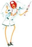 Анджел nurse-2 Стоковые Фото