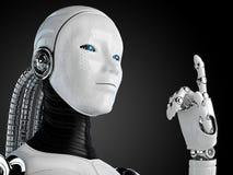 Андроид робота Стоковое Изображение