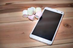 Андроид m телефона (6 0) зефир Стоковые Изображения