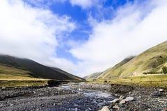 ландшафт красивой горы Стоковое Изображение