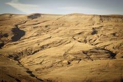 ландшафт осени красивейший Луга леса гор Стоковая Фотография RF