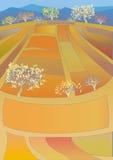 ландшафт осени красивейший Стоковая Фотография