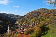 ландшафт осени цветастый Стоковое Изображение RF