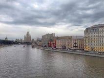 ландшафт отраженный moscow озера kremlin izmailovo Стоковое Фото