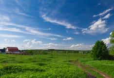 ландшафт сельский Стоковые Фото