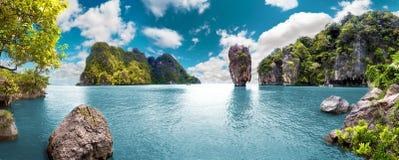 ландшафт сценарный Seascape Стоковое Изображение