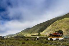 ландшафт тибетской горы Стоковые Изображения