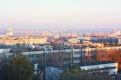 ландшафт урбанский dnepropetrovsk Стоковые Фотографии RF