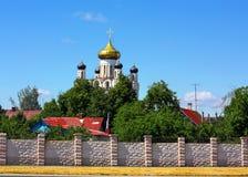 ландшафт церков сельский Стоковые Изображения RF