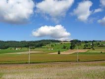 ландшафт Швейцария Стоковое Изображение