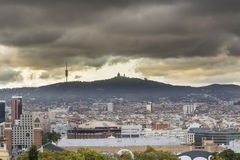 ландшафт barcelona Стоковое Фото