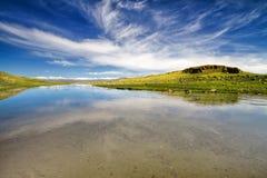 ландшафт kyrgyzstan Стоковое Изображение