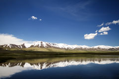 ландшафт kyrgyzstan Стоковые Фото